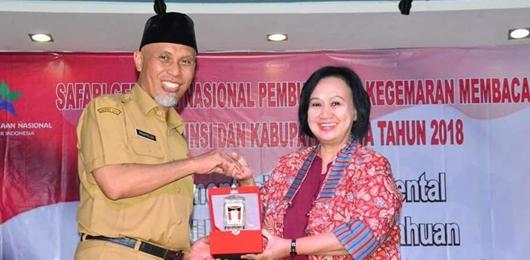 Walikota Padang: Tumbuhkan Gemar Membaca, Hadirkan Perpustakaan di Lapau