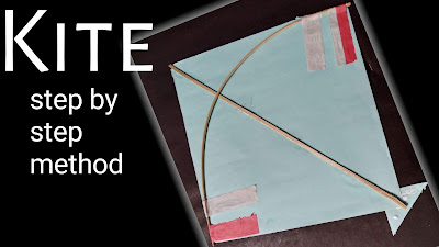 How to make kite, step by step tutorial for to make kite, easy tutorial for to make kite, easy steps for make kite, Makar Sankranti kite, easy tutorial for to make kite,indian kite tutorial, Art and crafts for kite,