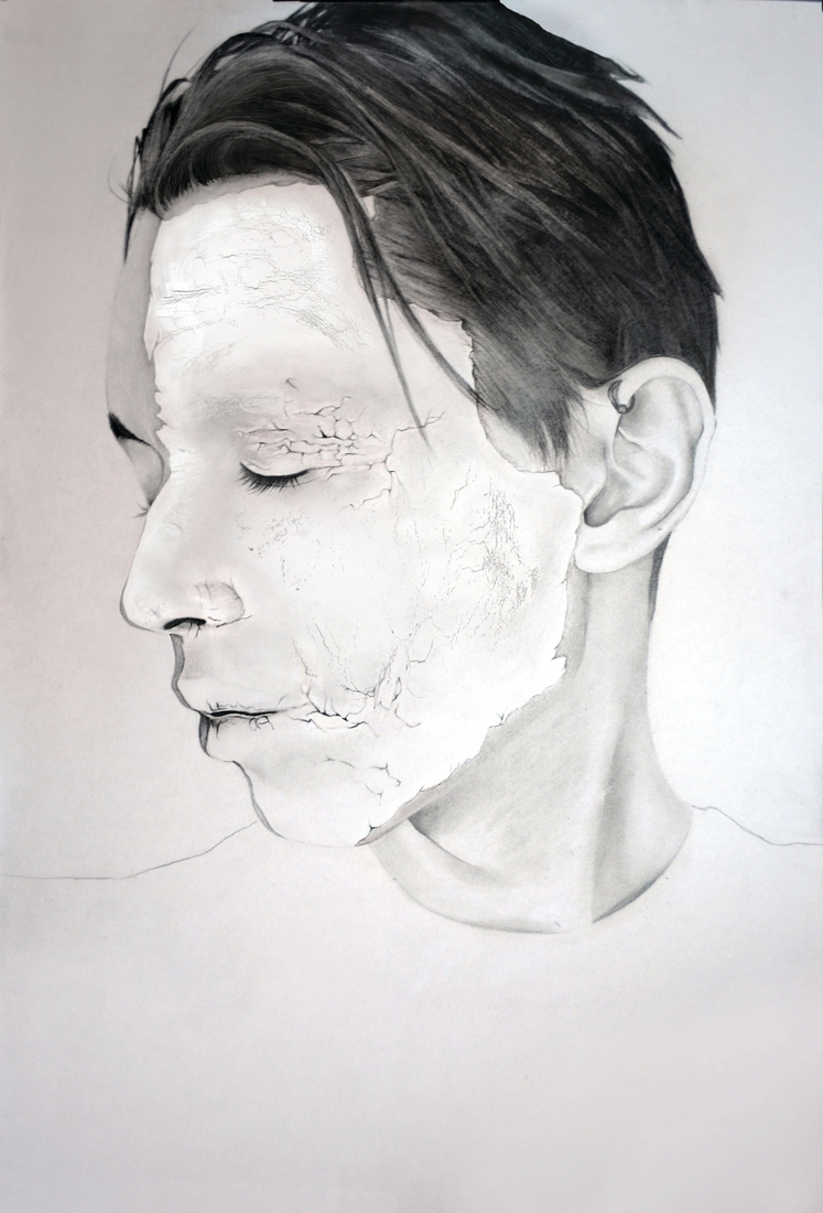 08-Dylan-Andrew-Shadows-and-Textures-Interacting-with-Charcoal-Drawings-www-designstack-co