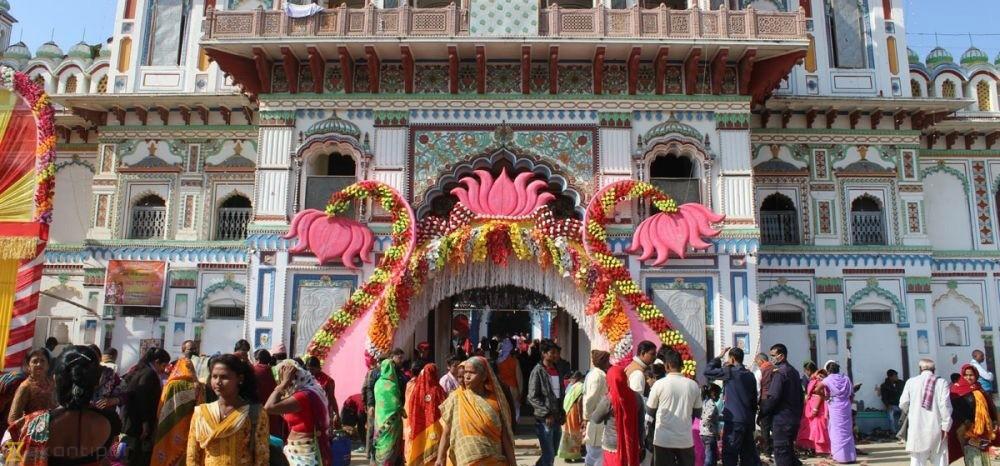 Devotees start flocking to Janakpur for Ram Janaki marriage festival