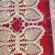 Cubre bandejas a Crochet