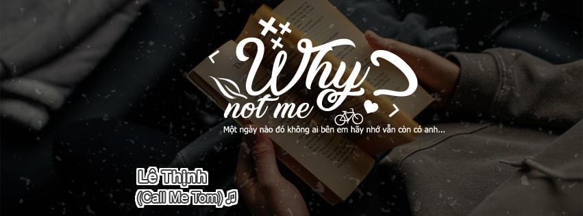 [PSD Ảnh Bìa] Why Not Me & Yêu Từ Phía Sau