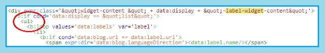 Membuat tampilan label blog terlihat keren