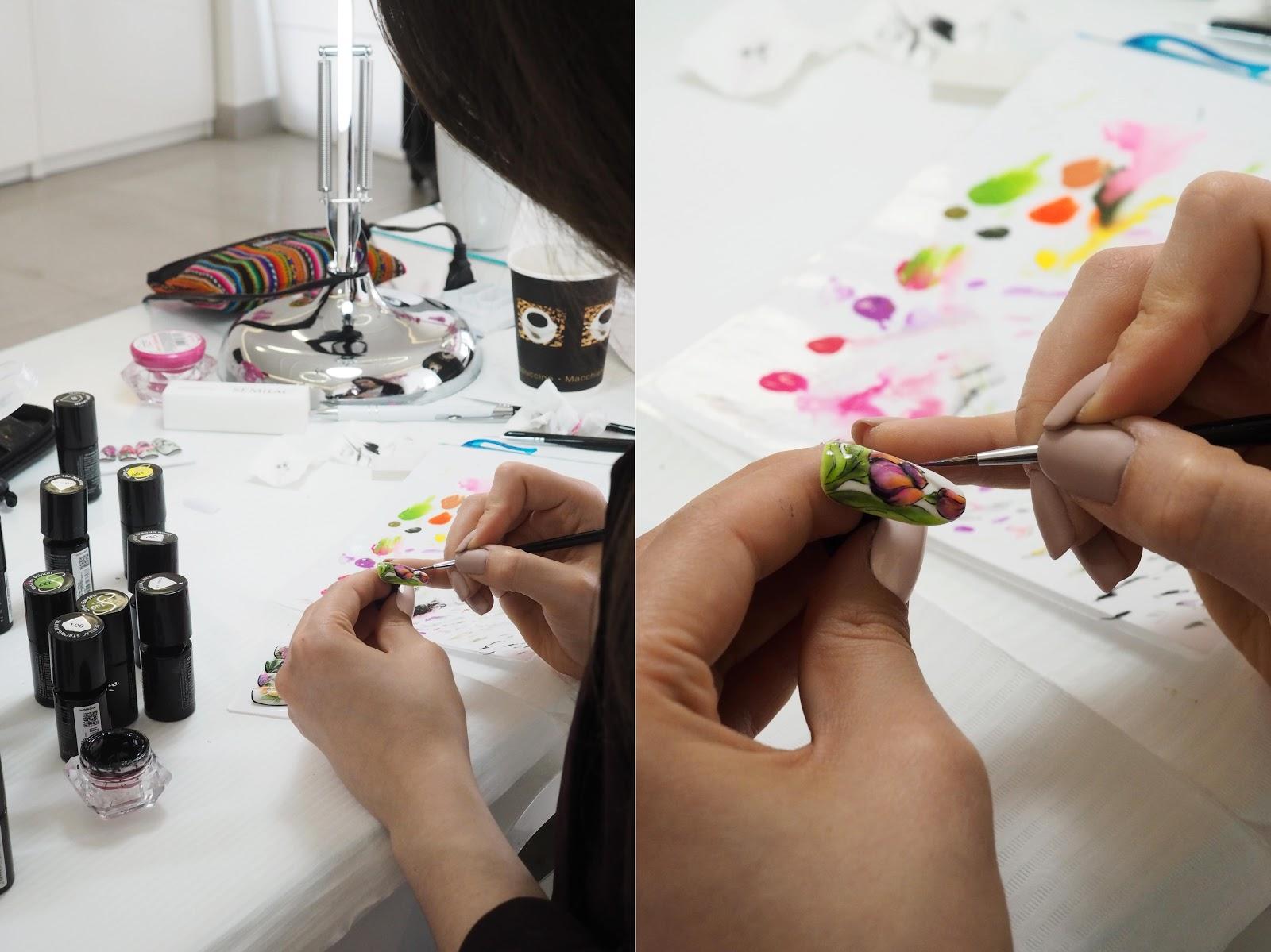 semilac szkolenie paznokcie