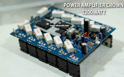 Power Amplifier Crown 1200W CROWN XLS