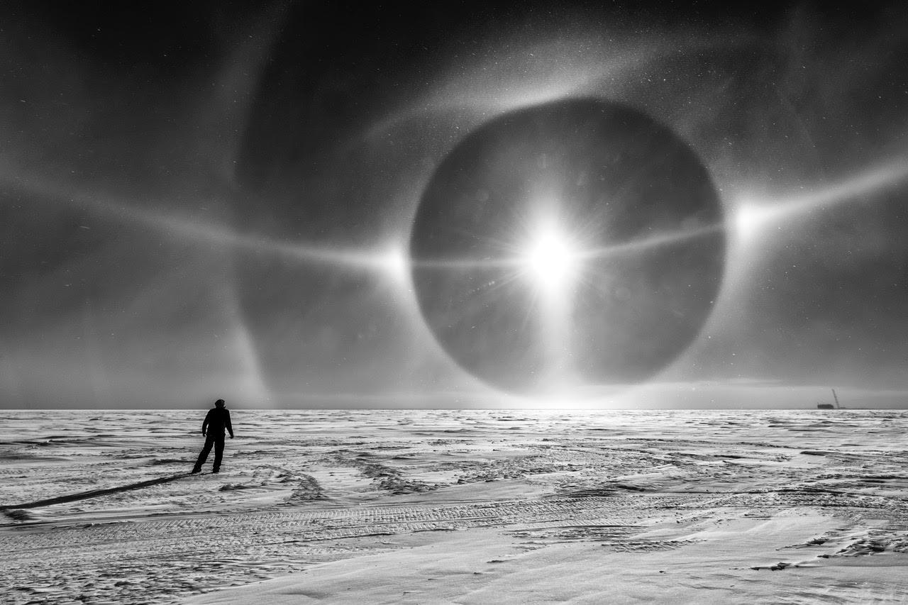 Estructura Alienigena Encontrada en la Antártida