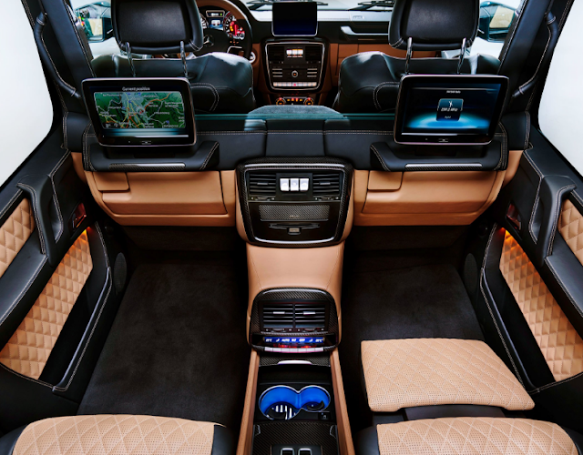 2018 Mercedes SUV G650 Price Interior