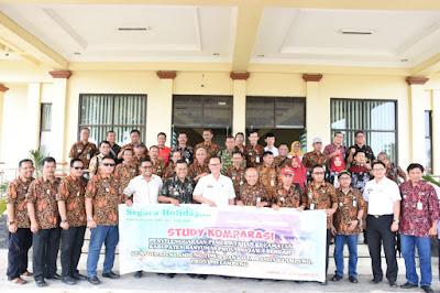 Pemkab Lampung Timur Terima Kunker Pemkab Banyumas