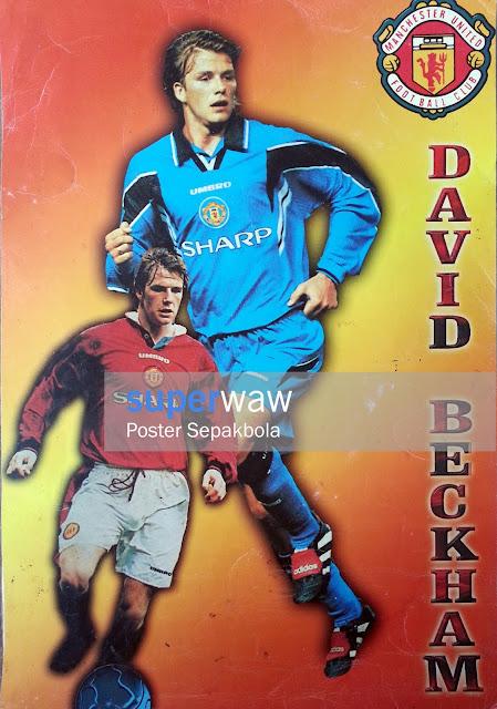 Poster Karton David Beckham