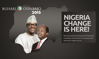 Buhari and Osinbajo - Change