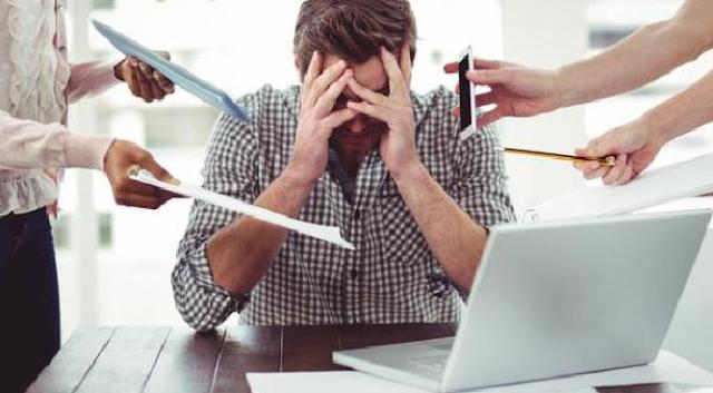 5 Tips Untuk Memerangi Stress Manajemen Bisnis Kecil