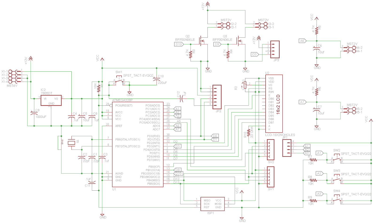 the oracle at delphi 3d printer the temperature controller raspberry pi wiring-diagram even though the lcd component says it's a 16x2 display, i'm actually using a 16x4 display the pinout is identical because i knew i needed to switch up to