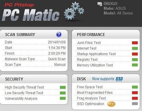 تحميل برنامج PC Matic لتحسين اداء الكمبيوتر وإصلاح الأخطاء