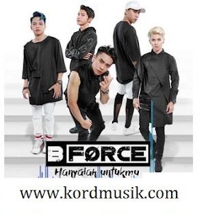 Kunci Gitar B Force - Hanya Untukmu