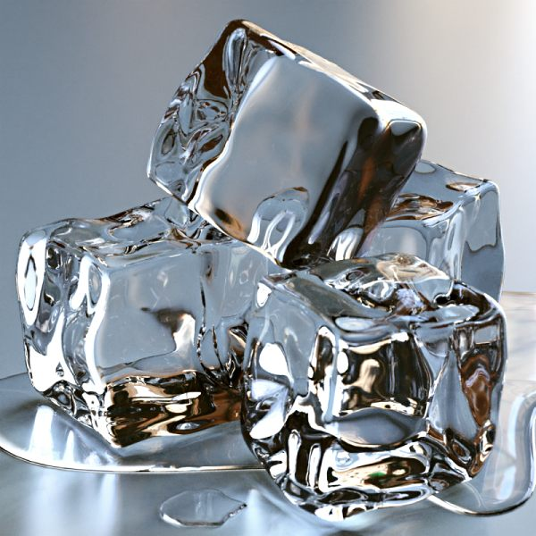 Super Cool Images: Frozen Ice Cube