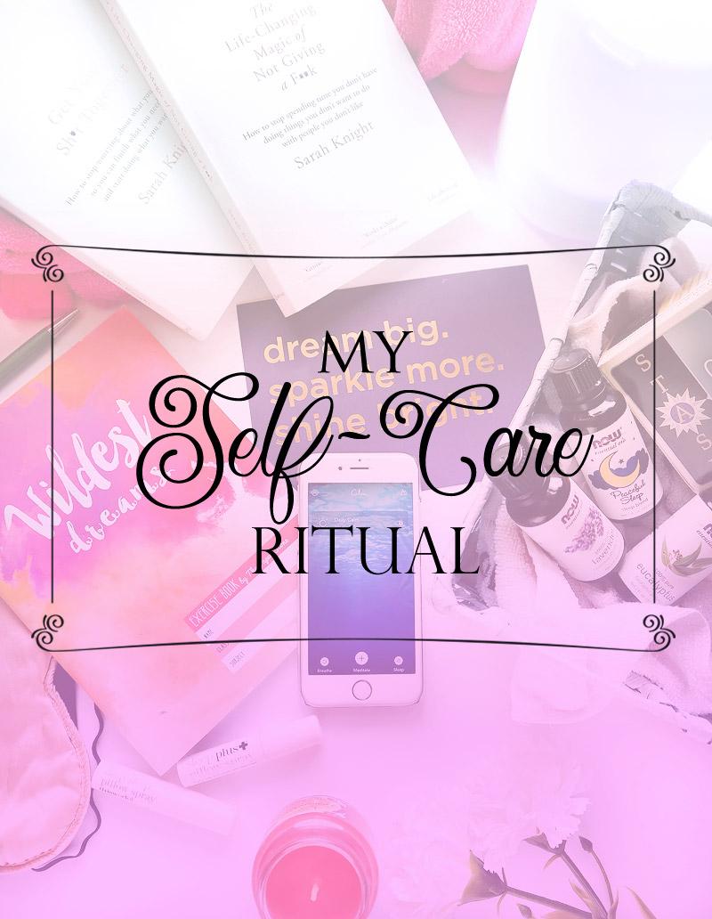 self care night ritual