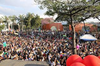 IMG 9923 - 13ª Parada do Orgulho LGBT Contagem reuniu milhares de pessoas