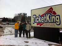 Ticket King Green Bay just next to Lambeau Field