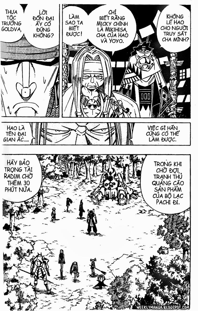 Shaman King [Vua pháp thuật] chap 153 trang 6