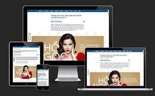 Hướng dẫn thiết kế bài viết theo phong cách E-magazine trong Blogspot