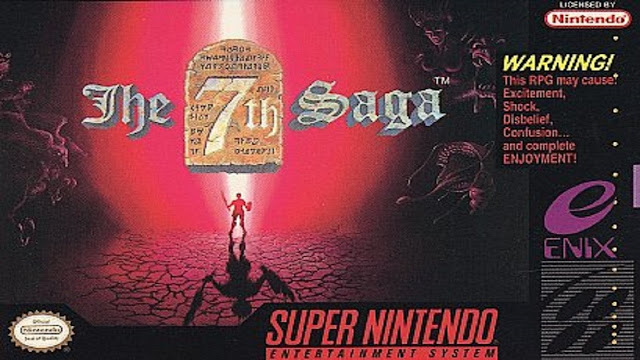 The 7th Saga - Snes - Portada