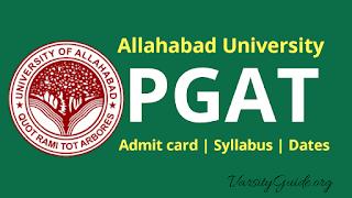 Allahabad University Post Graduate Admission Test