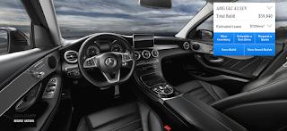 Nội thất Mercedes AMG GLC 43 4MATIC 2018 màu Đen Leather 221