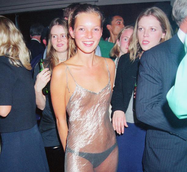 El vestido favorito de Instagram también es el favorito de Kate Moss