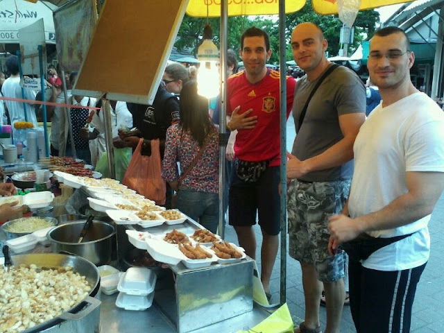 En el mercado de Chatu Chack