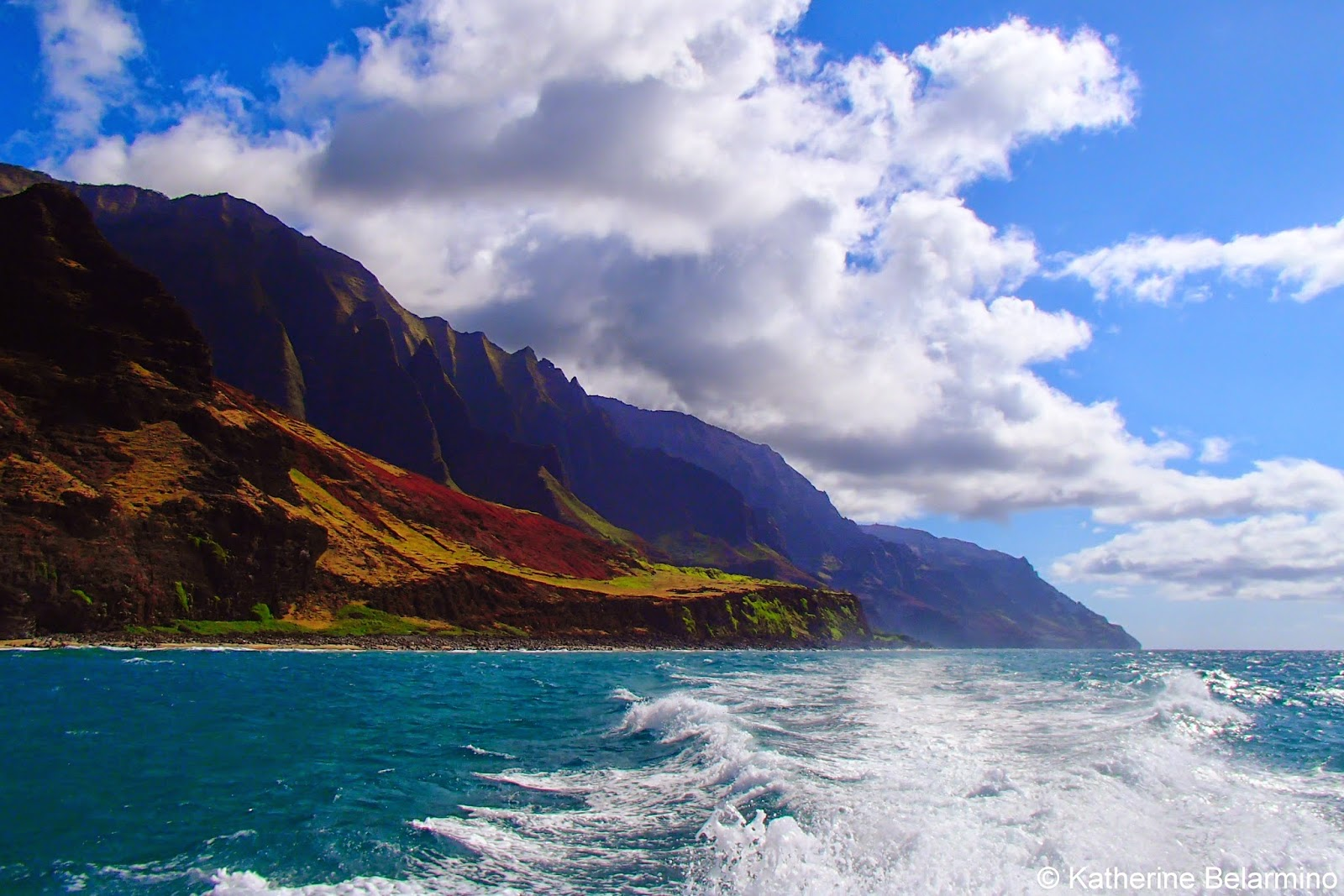 Na Pali Coast with Napali Catamaran Kauai Hawaii