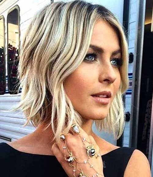 Different Short Layered Haircuts For Wavy Hair