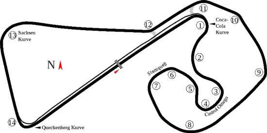 Sachsenring-German-Circuit