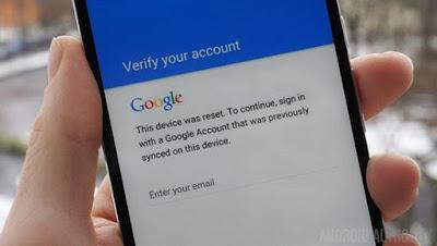 Trik Cara Bypass Verifikasi Akun Google Android via OTG (FRP)