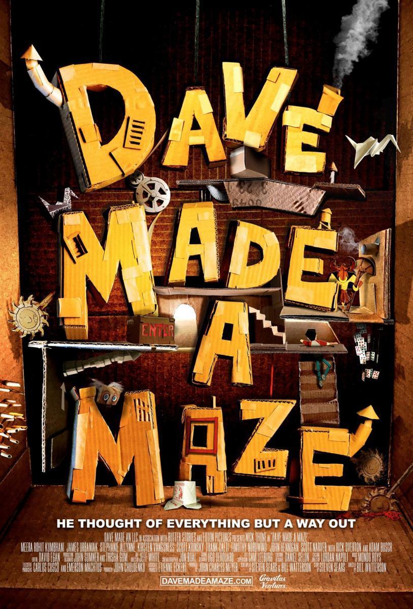 Dave Made A Maze Bienvenidos A Art Attack Cinefilias Ocultas
