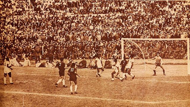 Chile y Brasil en Campeonato Panamericano 1952, 20 de abril