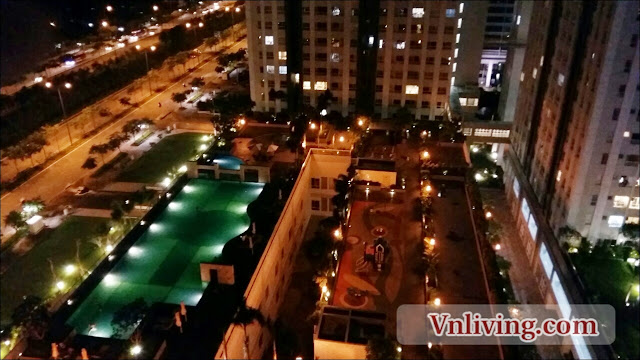Lexington Residence apartment for rent 2 bedrooms block D swimming pool view