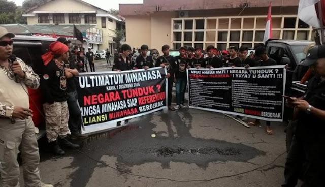 Ancam Minahasa Merdeka, Bukti Ahoker Pengkhianat NKRI