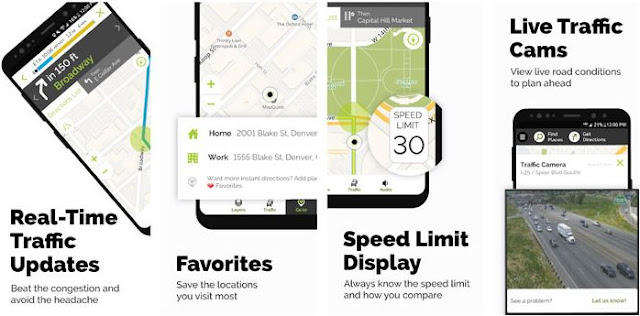 MapQuest app