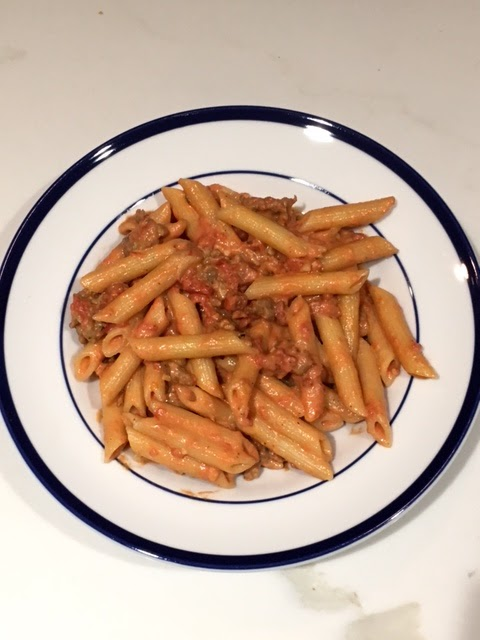 Penne ala vodka recipe
