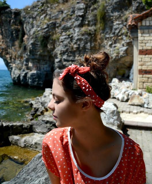 Dotted Tie Headband – Crochet Pattern