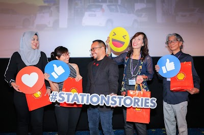 Shell Shares Their #StationStaries Online