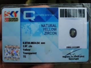 memo lab batu zircon