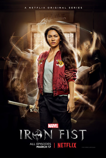 Marvel's Iron Fist Character Television Poster – Jessica Henwick as Colleen Wing