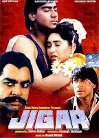 Jigar (1992) Full Movie Hindi 720p HDRip ESubs Download