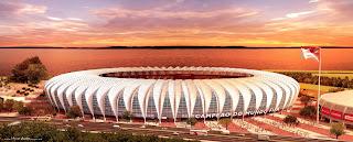 Estádio Beira-Rio - Porto Alegre - Rio Grande do Sul - Brasil - Copa do Mundo 2014