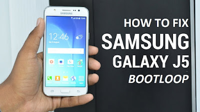How to Fix Samsung Galaxy J5 Bootloop Stuck on Logo_