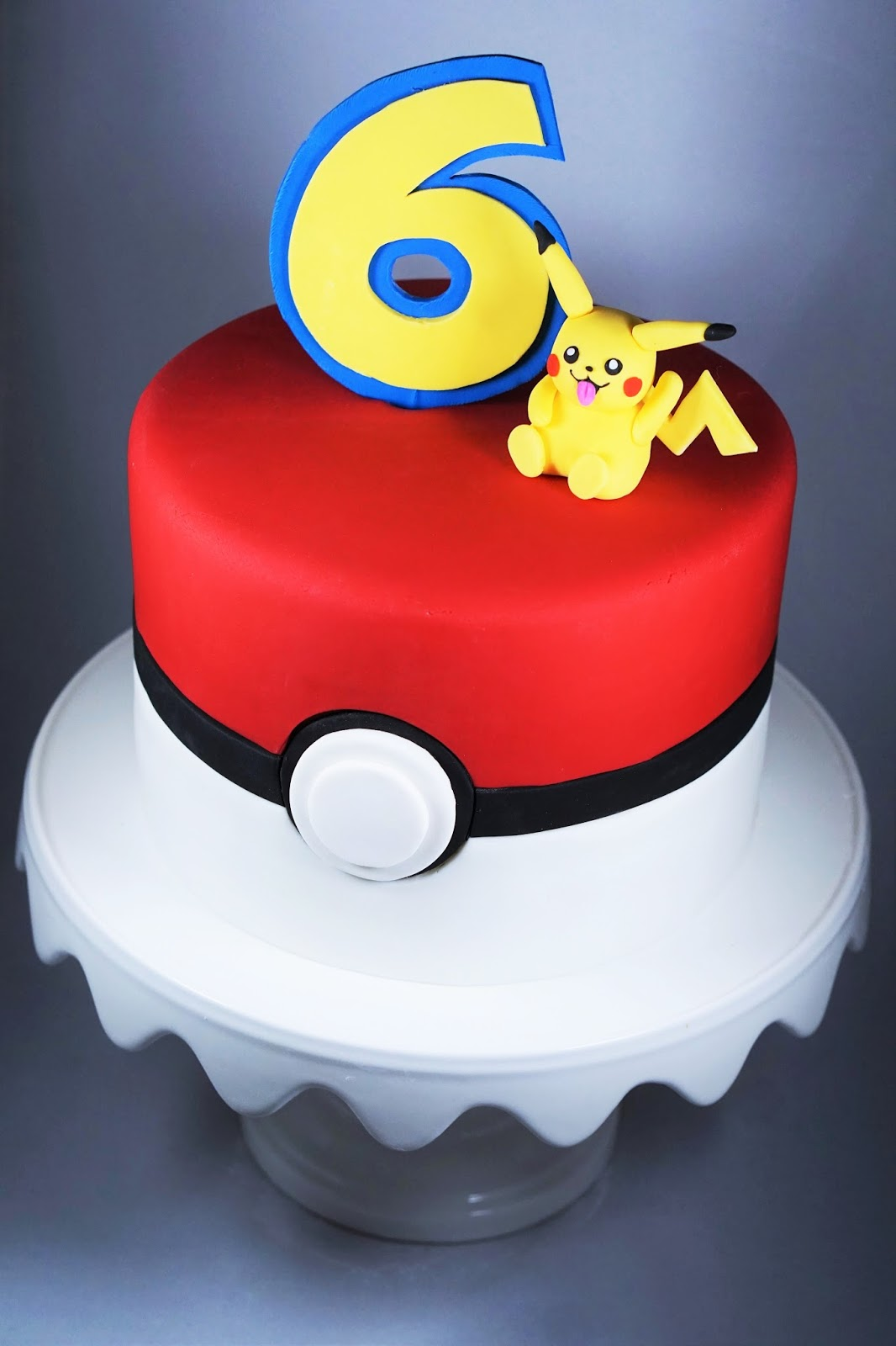 Phenomenal Eves Fika Pokemon Birthday Cake Pokemontarta Personalised Birthday Cards Bromeletsinfo