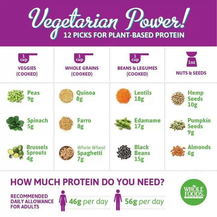 Alimentos ricos en proteínas vegetales