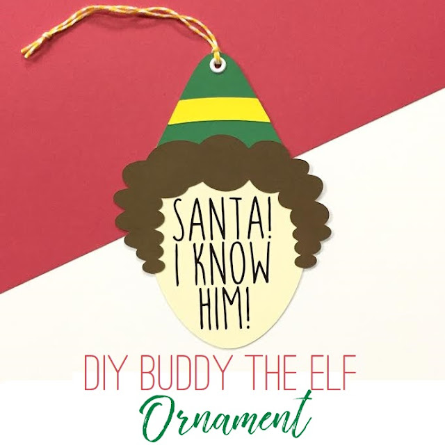"Create your own ""Buddy the Elf"" Ornament!"