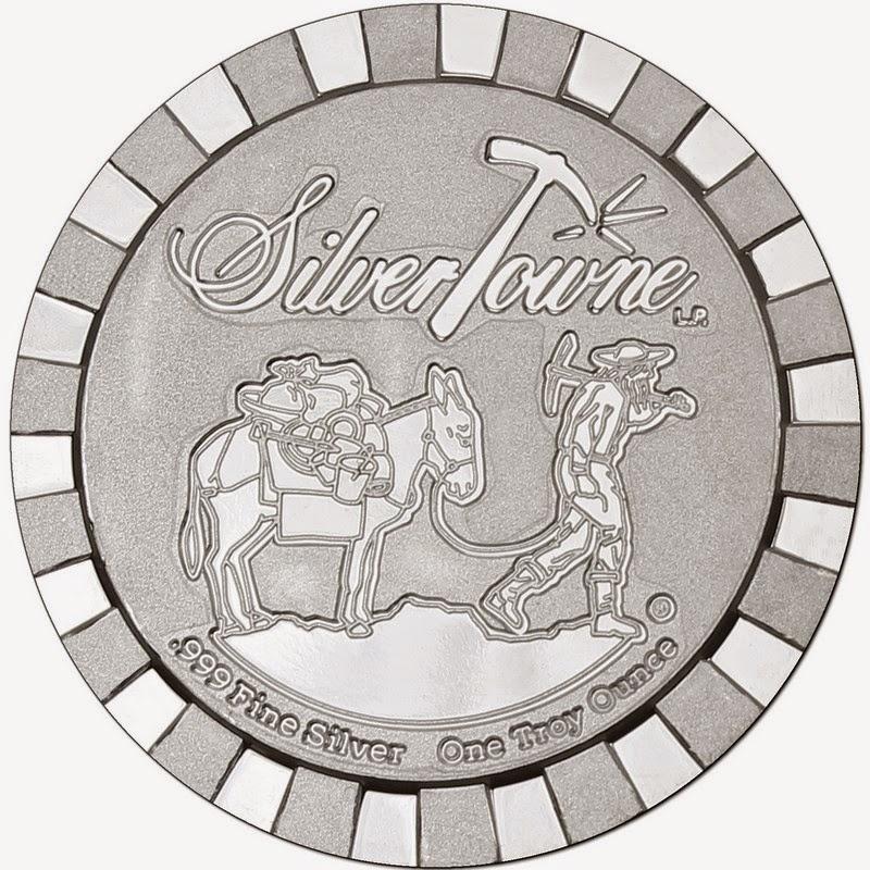 Ounces of Silver: SilverTowne Stackables Prospector 1oz ...